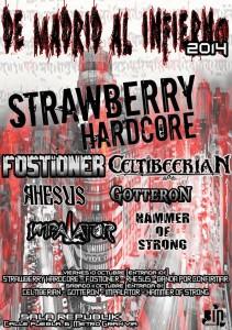 Strawberry Hardcore (Sala Republika, Madrid)