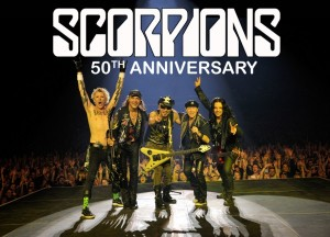 scorpions 50 aniversario