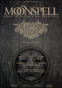 moonspell gira española 2016