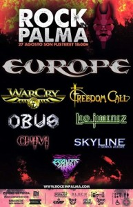 europe rock in palma