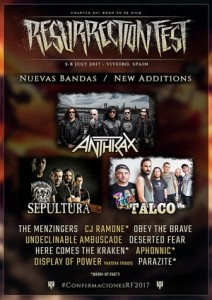 anthrax resurrection fest