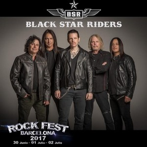 black star riders rock fest
