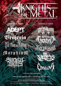 knights of metal festival confirmaciones