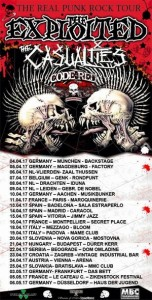 the exploited casualties eurotour 2017