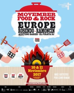 movember food & rock europe rosendo ramoncin santander