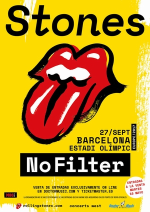 the rolling stones no filter barcelona septiembre 2017