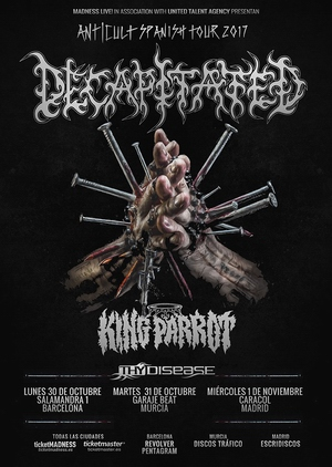 decapitated españa 2017