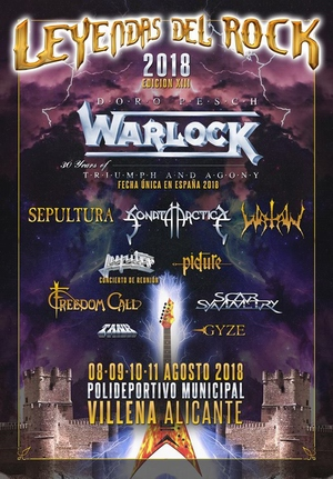 festival leyendas del rock 2018 primer anuncio