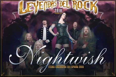 nightwish leyendas del rock 2018