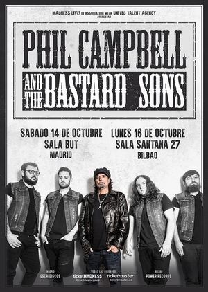 phil campbell and bastard sons españa 2017