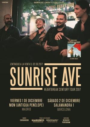 sunrise avenue españa 2017