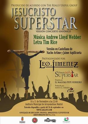Leo Jimenez Jesucristo Superstar Arroyomolinos Noviembre