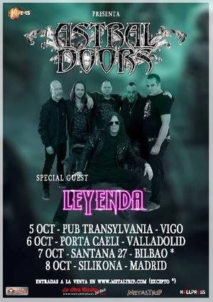 astral doors gira española