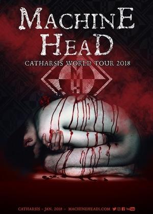 machine head catharsis tour poster