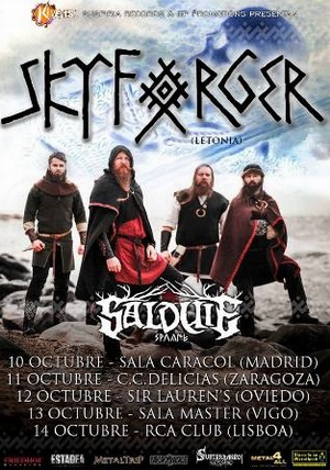 skyforger gira española