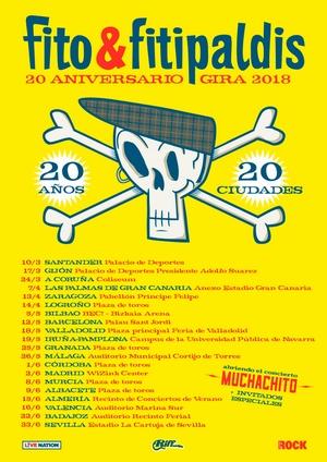 fito fechas completas gira 2018