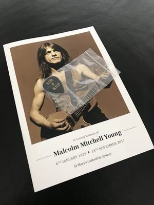 malcolm young funeral sydney