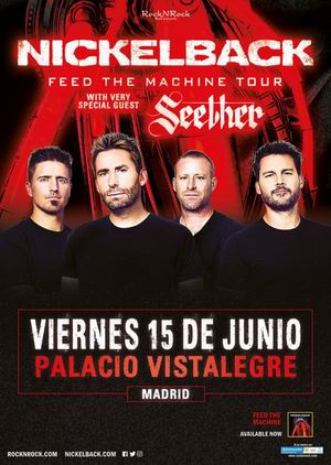 nickelback madrid 2018