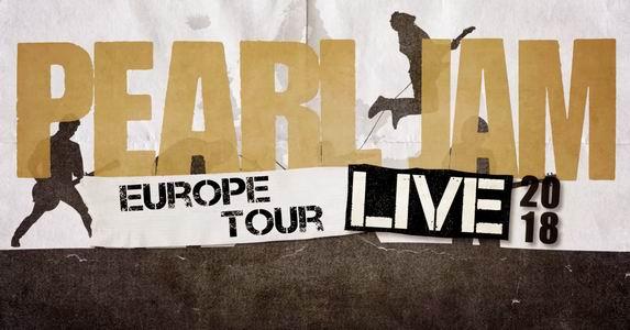 pearl jam europe tour 2018