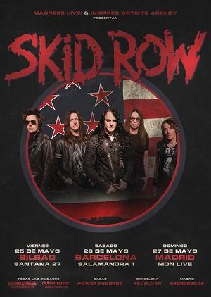skid row mayo españa 2018
