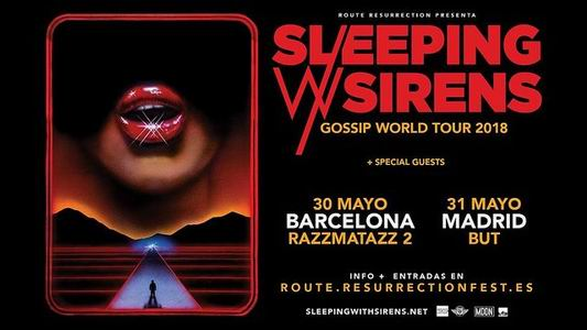 sleeping with sirens españa 2018