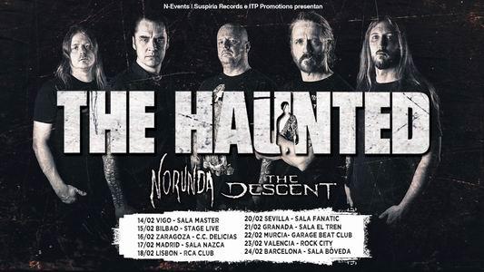 the haunted gira española