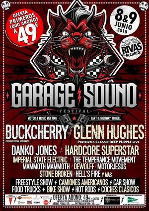 Garage Sound Festival 2018 Primer avance