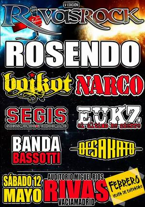 cartel rivas rock 2018