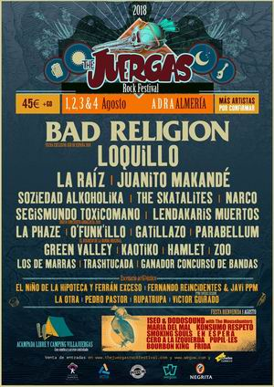 juergas rock bad religion loquillo