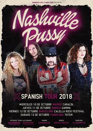 nashville pussy gira española octubre