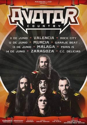 avatar gira española