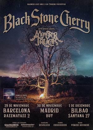 black stone cherry gira española