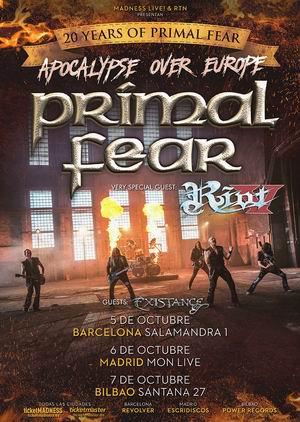 primal fear riot v españa 2018