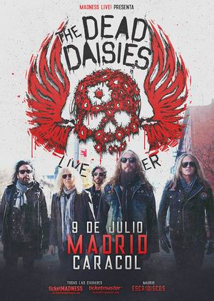 the dead daisies madrid