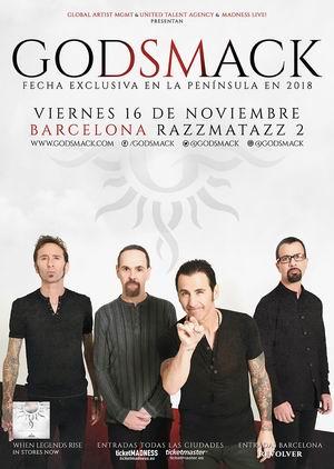 godsmack barcelona 2018