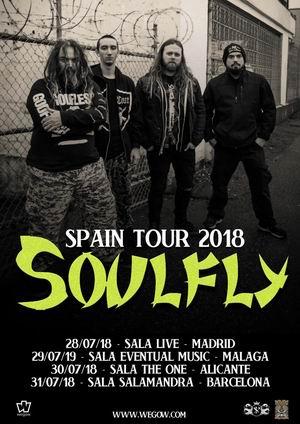 soulfly españa 2018