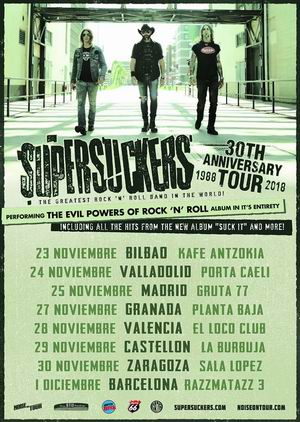 supersuckers 30 anniversary tour 2018