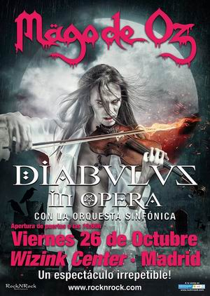mago de oz diabulus in opera madrid