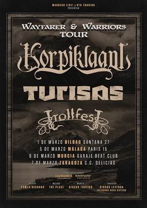 korpiklaani turisas trollfest españa 2019