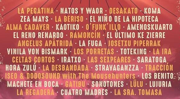 festival extremusika 2019 primer avance cartel grupos
