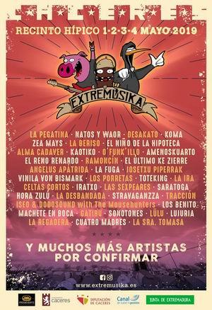 festival extremusika 2019 primer avance cartel