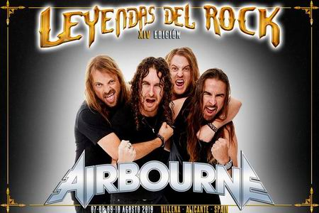 airbourne leyendas del rock 2019 villena