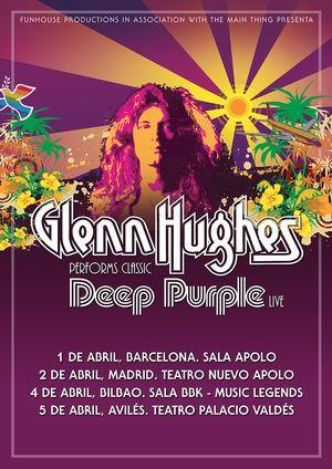 glenn hughes deep purple gira española