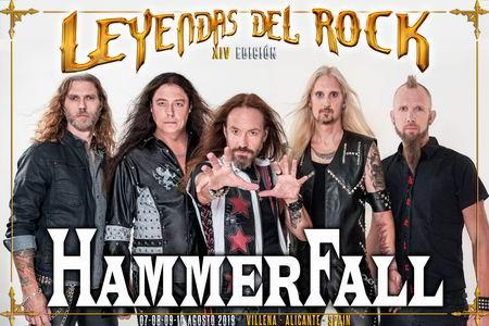 hammerfall leyendas 2019