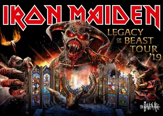 iron maiden tour 2019