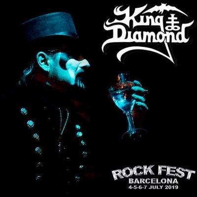 king diamond rock fest barcelona 2019