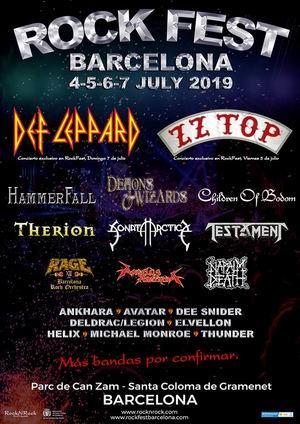 rock fest barcelona segunda tanda de confirmaciones