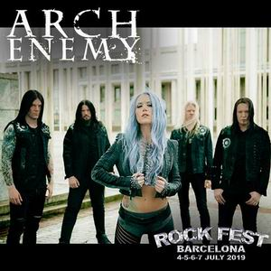 rock fest bcn 2019 arch enemy