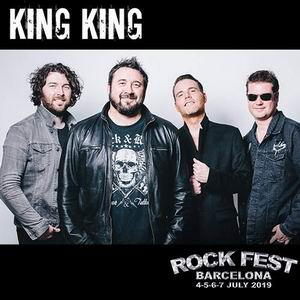 rock fest bcn 2019 king king