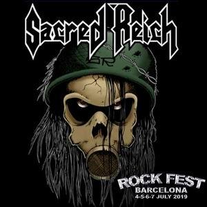rock fest bcn 2019 sacred reich